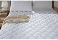 Comfortable and healthy 120gsm queen size polyester mattress topper from china factory