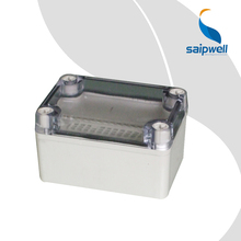 High Quality Junction Box CE Certificated Saip Saipwell China Project Box Clear Waterproof Electrical ABS Enclosure