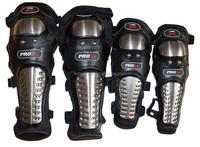 Metal Knees Elbows Guard Knee Pad Motorcycle Protector