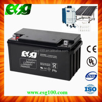 Long Life Mantainence Free Solar Battery 12V Deep Cycle Battery 12V 60Ah with CE, TUV, UL, ISO9001