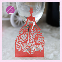 2015 New Wedding decoration wedding favor ,quinceanera small invitation ,customer's gift unique and beautiful samall girl ZS-1