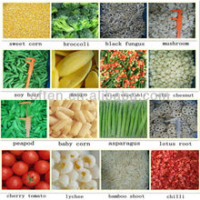 Mixed IQF frozen vegetable and fruit with HACCP BRC certificate