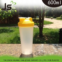 PP Plastic Type and Eco-Friendly Feature shaker bottle 400ml