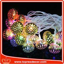 L: 10 m 50 LEDs de Natal ao ar livre luz da decoração bola