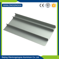 Customized Residential and Commercial eluminum skirting board champagne brushed skirting boards