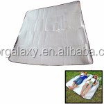 7mm Thickening of Double Aluminum Sleeping Pad with Pillow