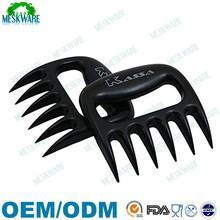 High grade enviro-friendly claws bear paw meat handler forks