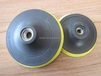high quality plastic backing pad with velcro,sanding backed pad
