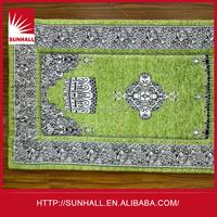 Novelties wholesale china 100% Polyester Fabric back high-quality prayer mat roll