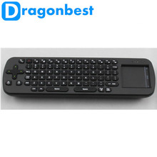 RC12 Mini Keyboard 2.4G Wireless Touchpad Air Mouse for PC Android TV BOX