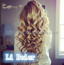 2014 Popular Brazilian Virgin Human Hair Loose Wave Full Lace Wig Any Color U May Choose