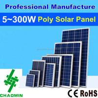 Mono and Poly 12v 100w 200w 280watts solar panel price