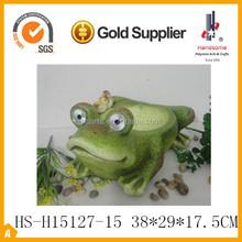 handmade indoor decorative green frog