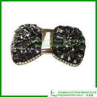 Wholesale Glass Beading AC192 Shoe Clips For Party