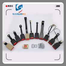 Hot selling car auto metal seat belt buckle and safety belt material