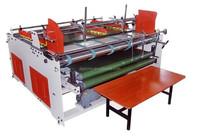 new and high speed machine/cardboard folding gluing/box semi-automatic machine
