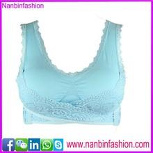 Blue girl sport seamless hot sexy xxxx sports bra in big sale