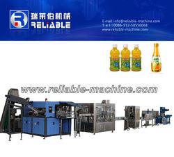 Zhangjiagang 3 in 1 Automatic Plastic Bottle Tea Production Line