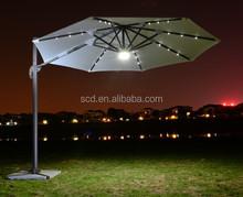 2014 HOT SALE LED patio umbrella wholesale
