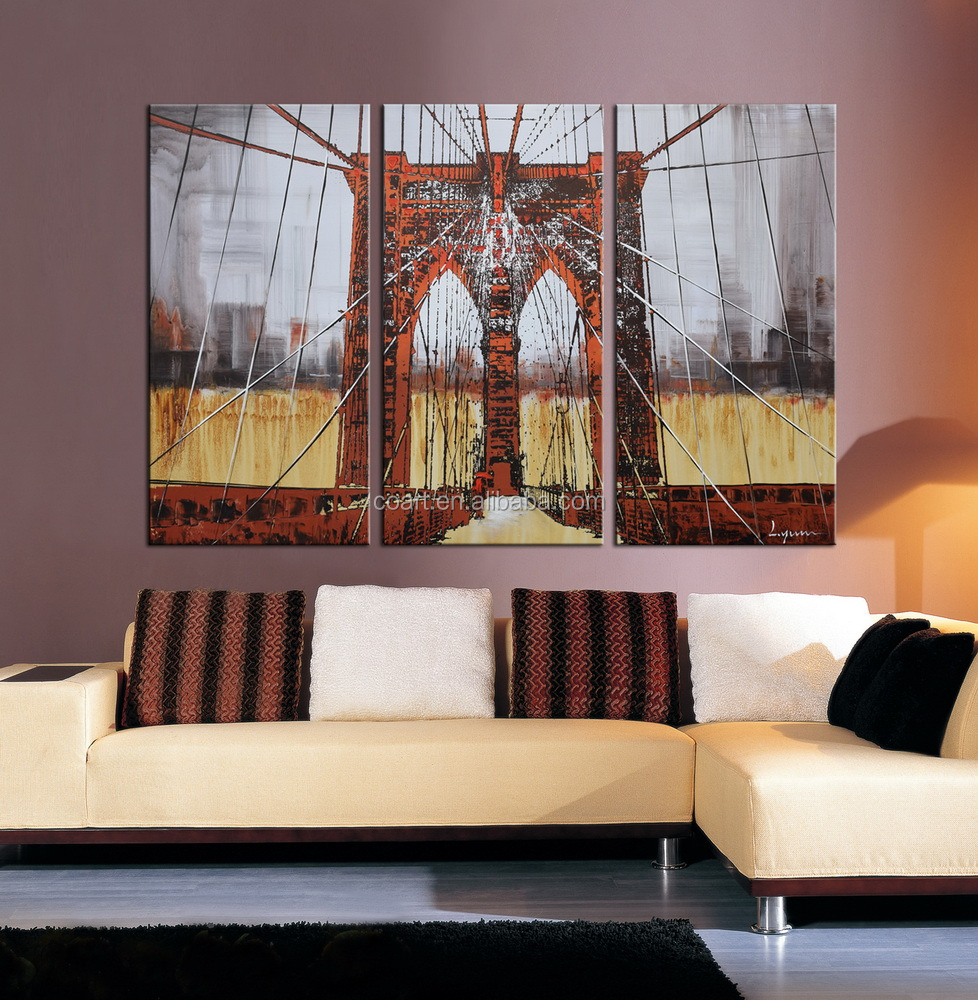Colorful New Design Created Wall Art Oil Painting Buy