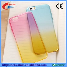 Soft TPU Case For iPhone6 Cover Ultra Thin Back Covers,Change Color Fashion Cases For Apple iPhone