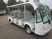 open top electric sightseeting bus