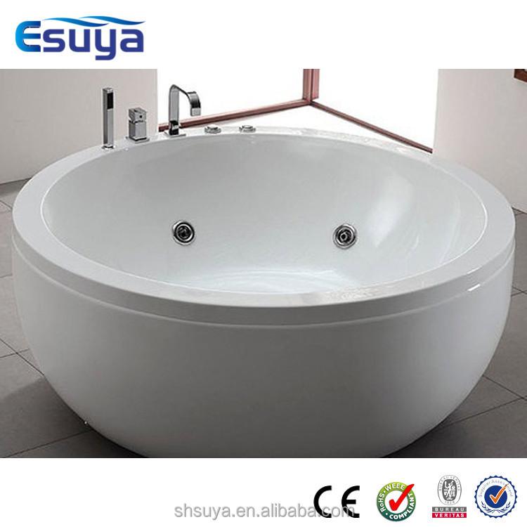 Round Bath Tubs : Round Spa Tub,New Design Bathtub Free Standing Bathtub - Buy Bathtub ...