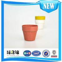 Light weight/Not easy to fall plant fiber flowerpot replace ceramic flower pots