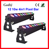 Gothylight 12x10w Quad Led Pixel RGB Bar DMX Controlled