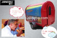 2014 new style JC-3300 camioneta para venta de comida Colorful Food