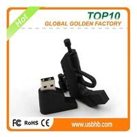 Newest promotional gift PVC Machine Gun shaped 8gb pendrive usb wholesale