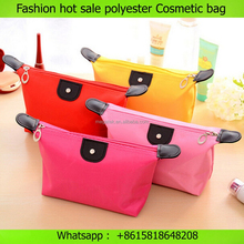 organizer bag Candy color makeup bag polyester travel Cosmetic bag