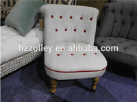 England fashionable design hot Sale oak wood spa chair,sex lounge chair,button tufted back relax chair
