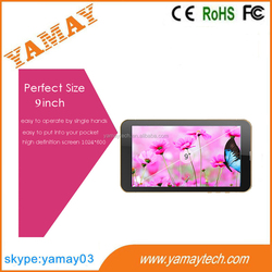 alibaba best sellers best 9 inch tablet pc 3g gps wifi, android tablet 3g, tablet pc with 2mp camera