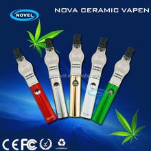 2015 new vaporizer Nova Ceramic Vapen wax vaporizer lava tube ego vaporizer pen