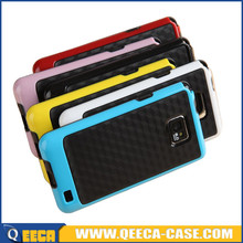Slim soft tpu pc shockproof back cover for samsung galaxy s2 hot sell products