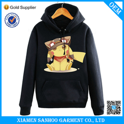 Fashion Customize Men Fit Hoodie No Pattern Fleece Wholesale Made In China