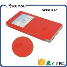 Pure Color PU Leather Smart Case
