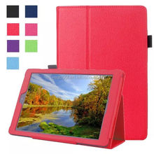 Litchi Pattern PU Leather Stand Case Cover for Amazon Kindle Fire HD 10 2015