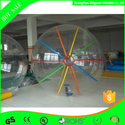 2015 wholesale inflatable water roller ball,water walking roller ball,giant inflatable clear ball for kids toys