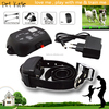 Home Garden In-ground Electric Fence for Dogs with 100 Level Shock Training Collar