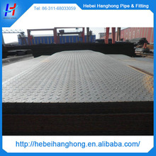 ms mild steel checkered steel plate 3mm thickness