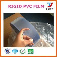 Online wholesale blue roll packaging flexible plastic sheet pvc film for label