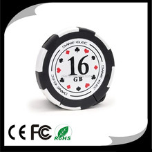 latest products in market Mini Poker Chips Shaped USB flash drive