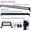 "excellent 10-30v 72 watt 11.5"" atv led light bar cheap"
