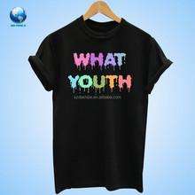 custom short sleeve plain t shirt &women plain t shirts &t shirt wholesale BF-007