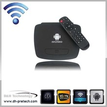 factory custozation smart tv box android MINI pc dongle RK3288 Android Media Player rj45 set top box wifi