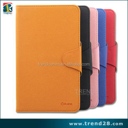 hight quality products folio stand pu leather case for samsung galaxy tab 3 7 inch