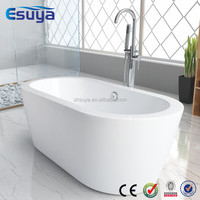 Factory made directly small cheap plastic portable acrylic fiberglass bathtub for adult