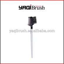 Wood handle custom Eye brow/comb brush
